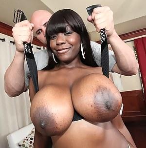 MILF Big Black Tits Porn Pictures